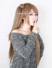 Love Live! School Idol project Kotori Minami light brown cosplay wig / 80cm long cute wig