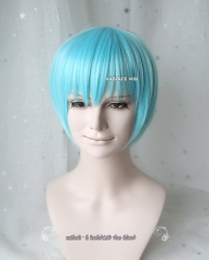 SALE! Touken Ranbu 刀剣乱舞 Ichigo Hitofuri short smooth pastel blue wig