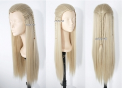 Lord of the Rings / The Hobbit Elf Legolas Greenleaf 80 cm long straight dirty light blone cosplay wig