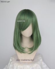 M-1/ SP04 sea green long bob cosplay wig. shouder length lolita wig suitable for daily use