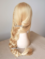 How to train your dragon Astrid Hofferson blonde long braid cosplay wig .