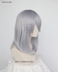 M-1 / SP26 silver Lavender long bob cosplay wig. shouder length lolita wig suitable for daily use .