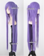 "100cm / 39.5"" Vocaloid gakupo long straight purple cosplay wig with clip"