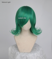 One Punch Man Tatsumaki  Tornado of Terror flipped out green cosplay wig