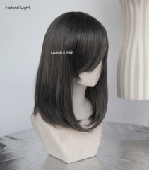 M-1/ SP09 dark gray long bob cosplay wig. shouder length lolita wig suitable for daily use