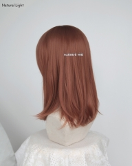 M-1/ KA022 Copper Penny long bob cosplay wig. shouder length lolita wig suitable for daily use