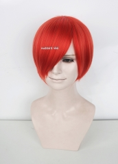 DISCOUNTED 【Six Colors】S-2 COLLECTION short bob smooth cosplay wig with long bangs Hiperlon fiber