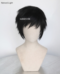 Yuri !!! on Ice Yuri Katsuki / Durarara!! Izaya Orihara short layered black wig . KA032