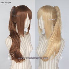 Pokémon GO Female trainer clip on ponytail wig / 62cm long .