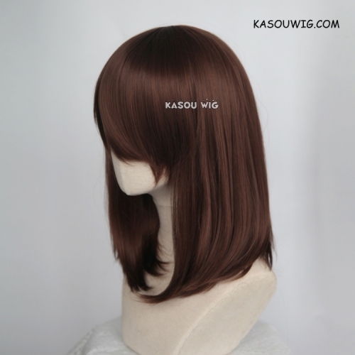 M-1/ KA027 Coffee Brown bob cosplay wig. shouder length lolita wig suitable for daily use