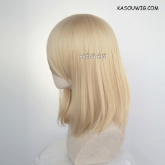 M-1/ KA009 Beach Blonde bob cosplay wig. shouder length lolita wig suitable for daily use