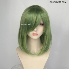 M-1/ KA061 moss green bob cosplay wig. shouder length lolita wig suitable for daily use