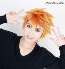 Haikyuu !! Shoyo Hinata short orange layers cosplay wig