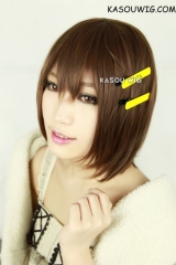 SALE! K-on! Hirasawa Yui short mixed brown bob wig