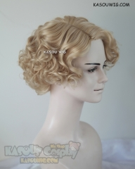 Fantastic Beasts and Where to Find Them Queenie Goldstein short curly blonde wig