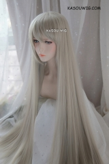 Yosuga No Sora Kasugano Sora 110cm super long straight sand blonde cosplay wig