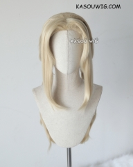 Naruto Tsunade middle part  blonde 72cm long pigtails cosplay wig