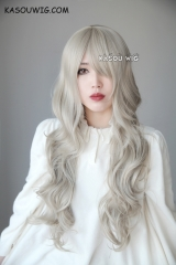 Fire Emblem fates female Avatar Corrin long loose wavy flaxen sand blonde wig SP02