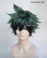 My Hero Academia Midoriya Izuku green black ombre cosplay wig