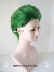 Batman Joker all back short Green cosplay wig