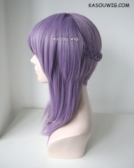 Owari no Seraph Hiragi Shinoa grayish purple cosplay wig with clip-on braid