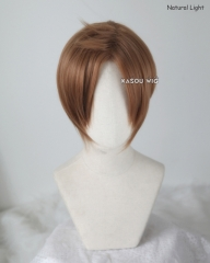 Noragami Fujisaki Kouto brown middle parted cosplay wig KA024