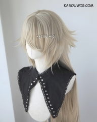 Fate Grand Order FGO Jeanne d'Arc alter 110cm long blonde braided cosplay wig