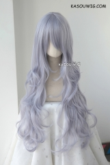 L-3 / SP26 silver Lavender long layers loose waves cosplay wig . heat-resistant fiber
