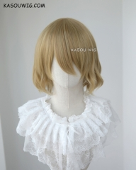 Love Live! School Idol project Hanayo Koizumi yellow bob cosplay wig