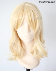 Diabolik Lovers Yui Komori curly yellow blonde cosplay wig