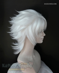 League of Legends Spirit Blossom Yone/ Fate Apocrypha Shirou Kotomine white layered wig