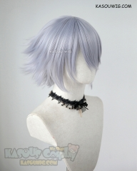 Fate Apocrypha FGO Assassin of Black Jack the Ripper short flippy silver Lavender cosplay wig SP26