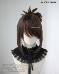 Overwatch Mei  Mei Ling Zhou Brown cosplay wig with bun
