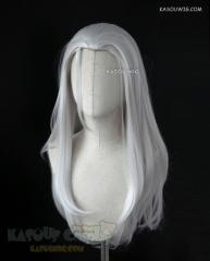 Voltron: Legendary Defender Prince Lotor silver white 72cm long slicked-back straight cosplay wig KA002