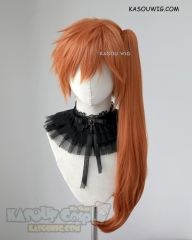 My Hero Academia Kendo Itsuka orange clip-on ponytail wig  ( SP15)