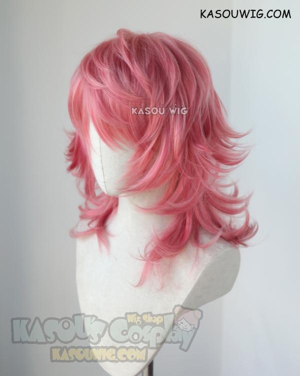 Kingdom Hearts Marluxia Medium Flippy Layered Rose Pink