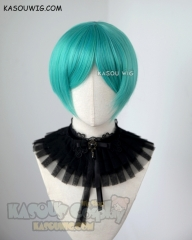 Houseki no Kuni Phosphophyllite short green cosplay wig