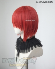 Ancient Magus Bride Mahoutsukai no Yome Hatori Chise red short inverted bob cosplay wig
