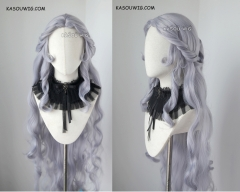 [BACK IN STOCK] Voltron: Legendary Defender Princess Allura 120cm long silver Lavender pre-styled wavy cosplay wig SP26