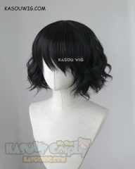 Ancient Magus Bride Mahoutsukai no Yome Ruth short black wavy wig KA032