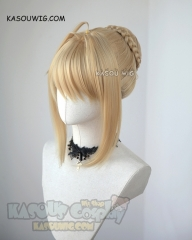 Fate/Extra FGO Nero Claudius  Red Saber pre-styled wig with bun