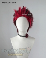 Ready Player One Art3mis slicked back red cosplay wig two tone