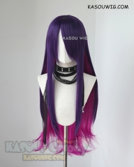 League of Legends Star Guardian Syndra long purple pink cosplay wig