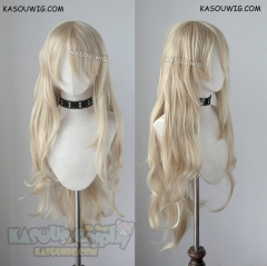 Angels of Death Ray Rachel Gardner 100 CM long messy blonde cosplay wig  KA006