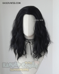 Loki Laufeyson Avengers  43cm long layers cosplay wig with widows peak ver 2 KA032