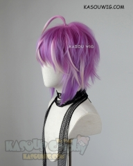 Hypnosis Mic Fling Posse Ramuda Amemura pink blue ombre cosplay wig