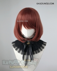 Kingdom Hearts III Kairi auburn short bob cosplay wig