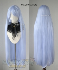 My Hero Academia The Big 3 Nejire Hado 110cm light periwinkle straight cosplay wig