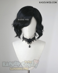Devil May Cry 5 V short black wavy wig