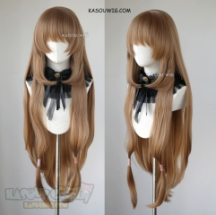 The Rising of the Shield Hero TROTSH  Raphtalia 100cm long straight brown cosplay wig